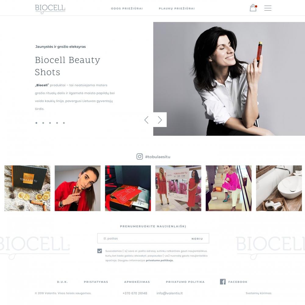 Biocell.lt/Elektroninė parduotuvė