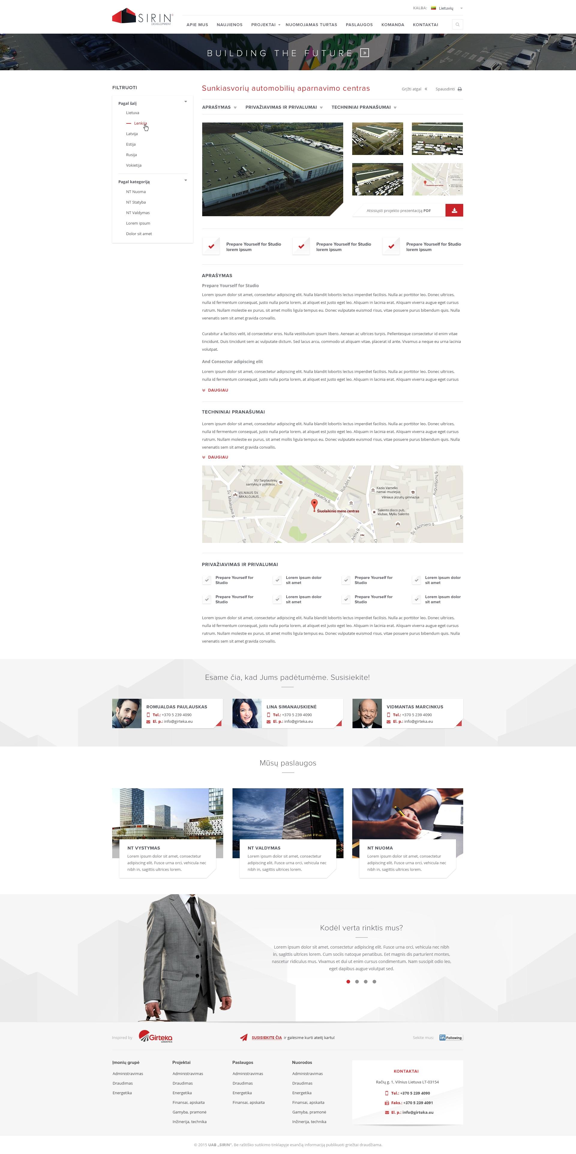 Girteka Logistics/Įvairūs interneto projektai