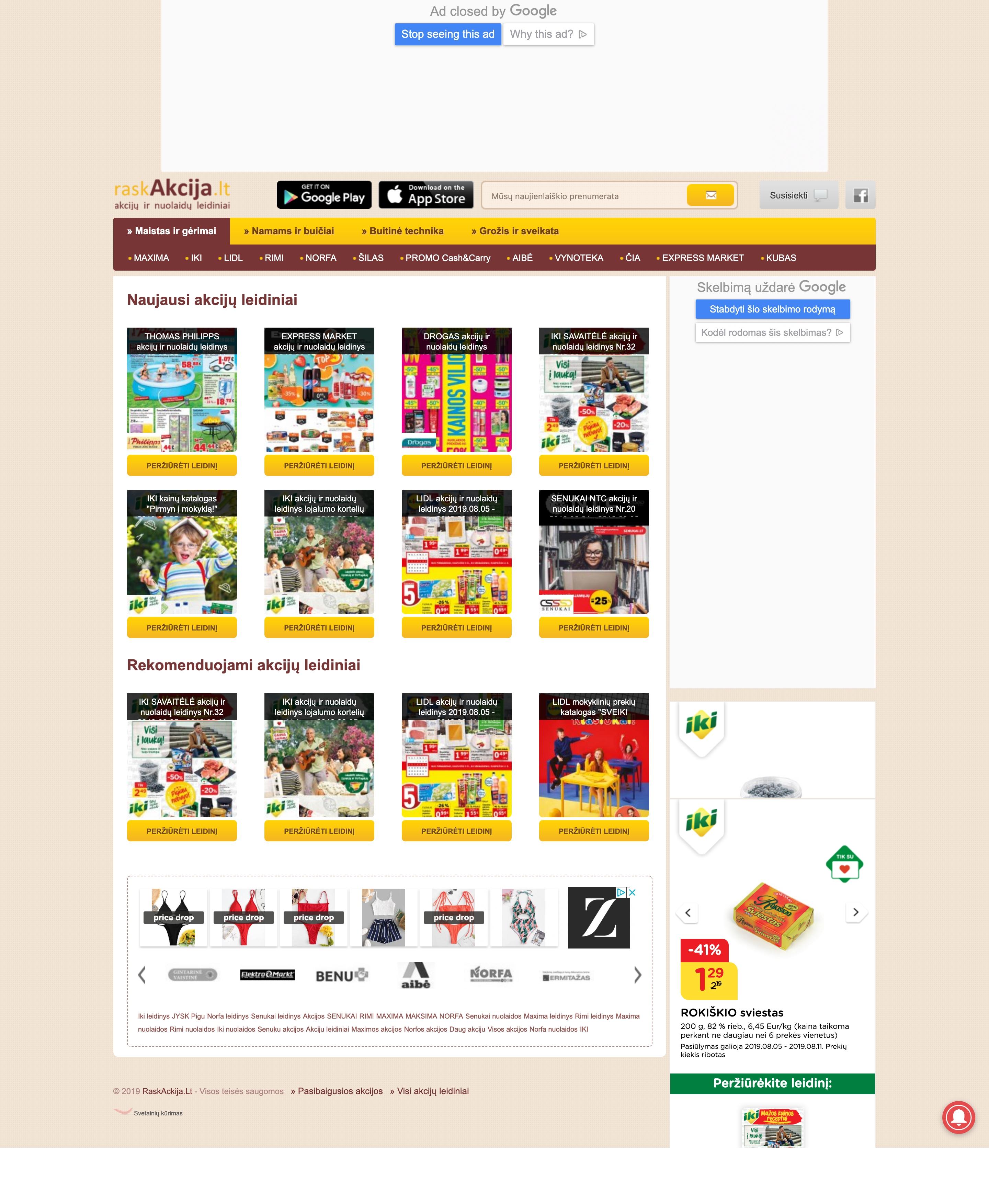 RaskAkcija/Interneto portalas