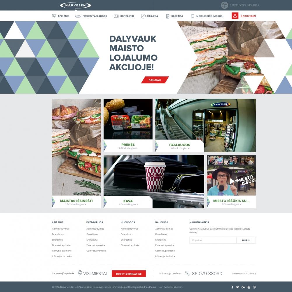 Reitan Lithuania/Įvairūs interneto projektai
