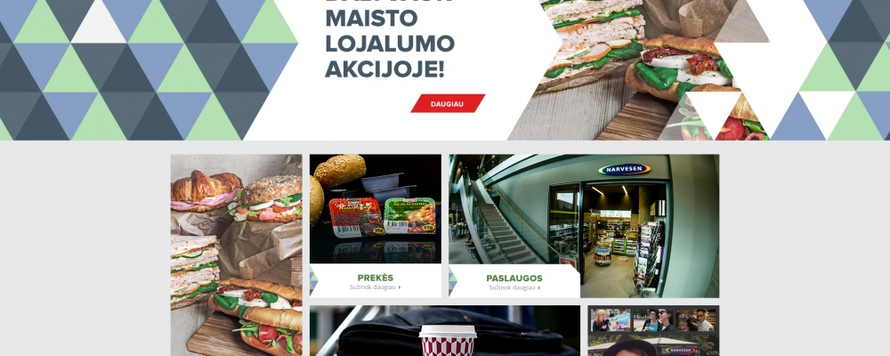 Reitan Lithuania/Various web projects
